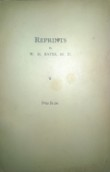 Reprints by Dr. W.H. Bates