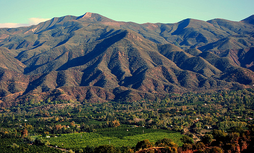 Beautiful Ojai Valley California